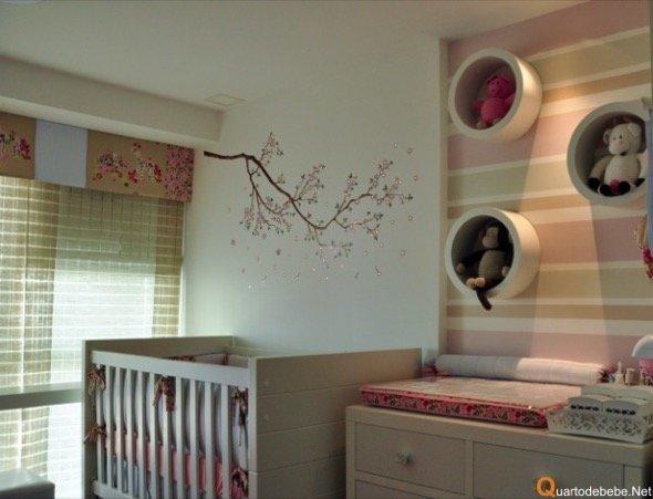 10-decorar quarto de bebe menina