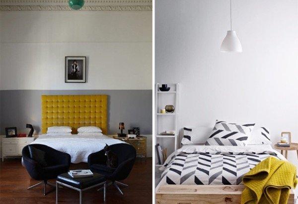 13-parede cinza na decoração salas e quartos
