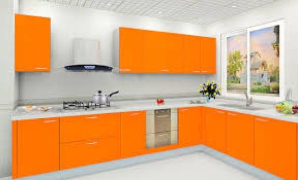 14-armarios de cozinha laranja