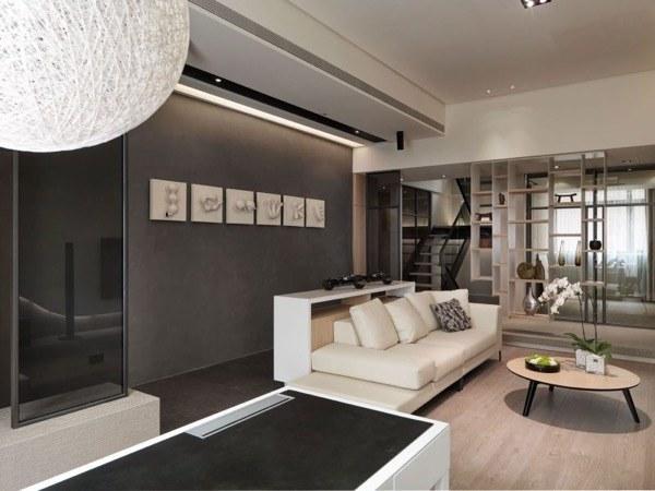 16-parede cinza na decoração salas e quartos