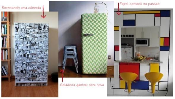 2-decorar com papel contact modelos