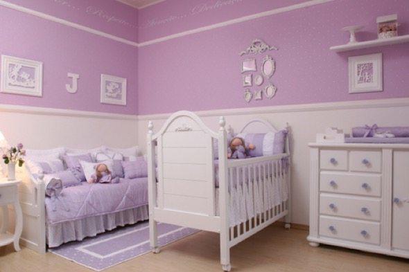 2-decorar quarto de bebe menina