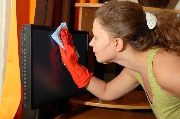 2-limpar tv de led plasma e lcd