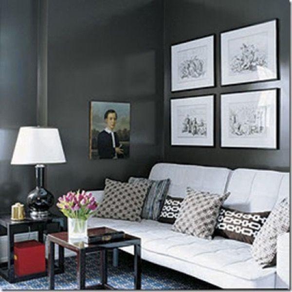 22-parede cinza na decoração salas e quartos