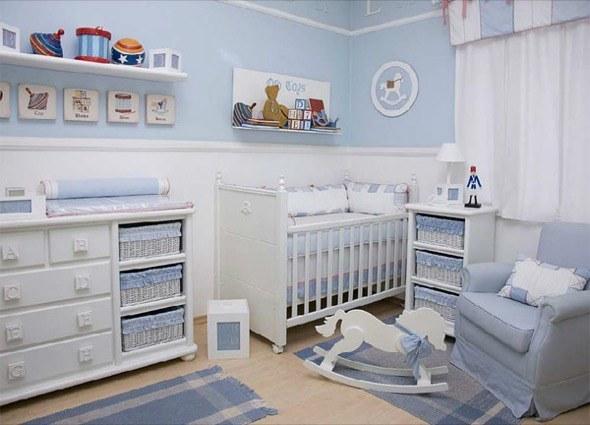 3-decorar quarto de bebe menino