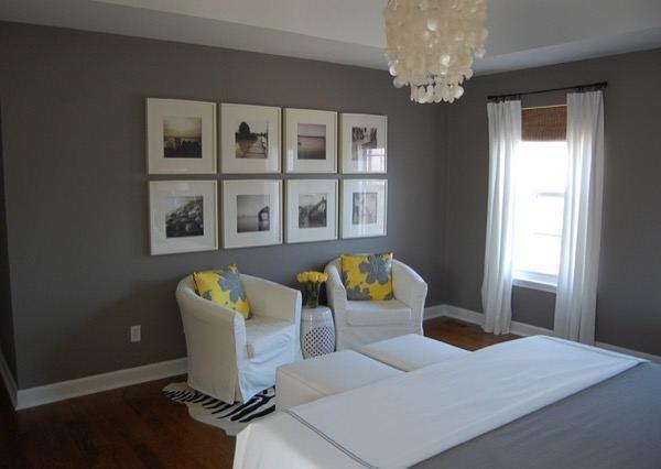 3-parede cinza na decoração salas e quartos