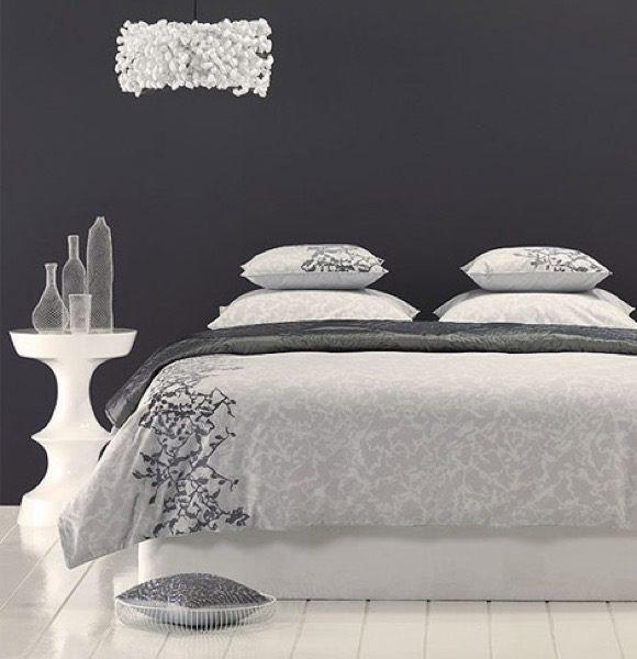 36-parede cinza na decoração salas e quartos