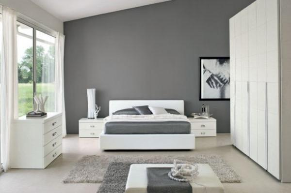 37-parede cinza na decoração salas e quartos
