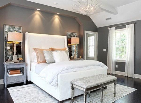 42-parede cinza na decoração salas e quartos