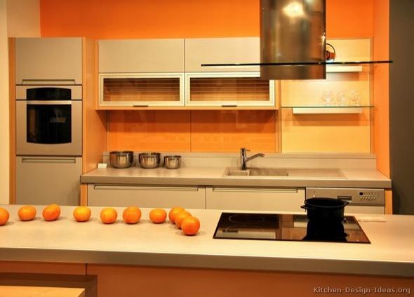 6-armarios de cozinha laranja