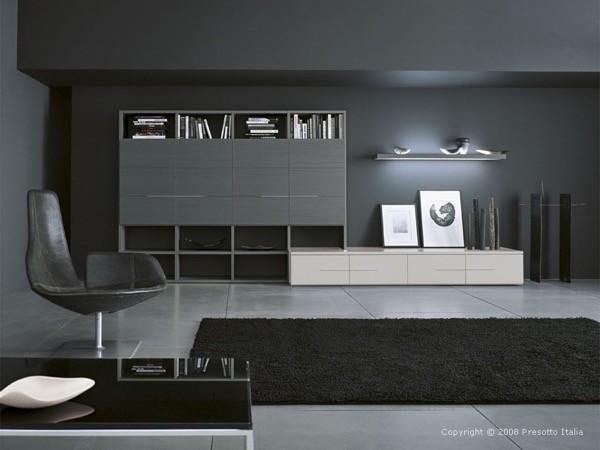 6-parede cinza na decoração salas e quartos