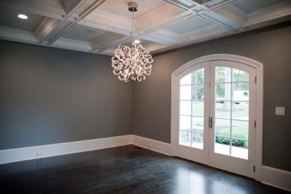 8-parede cinza na decoração salas e quartos