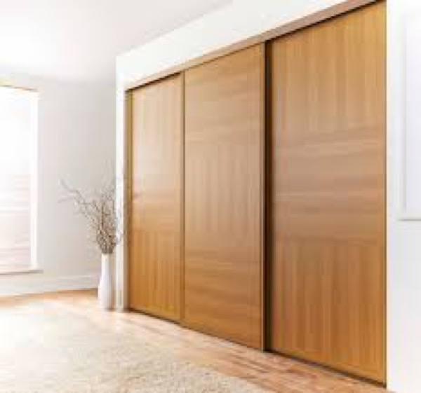 8-porta de correr de madeira