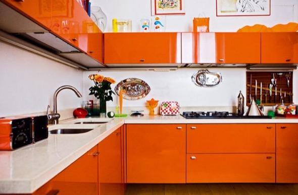 9-armarios de cozinha laranja