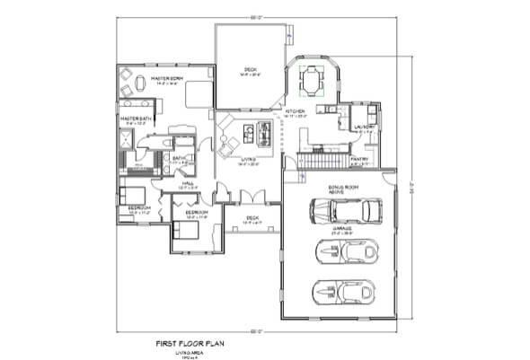 46-plantas de casas 3 quartos modelos