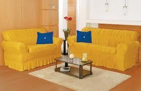 Decorar gastando pouco capas de sofas