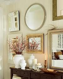 Salas decoradas com espelhos 1