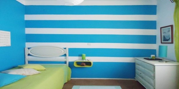 11-quarto juvenil decorado