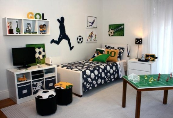4-quarto juvenil decorado