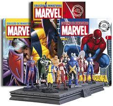 Coleção Miniaturas Marvel