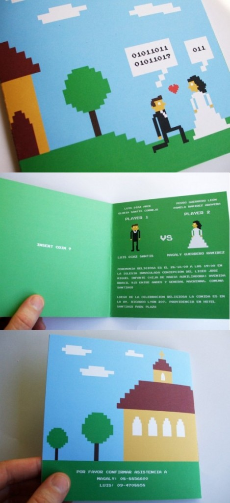 Convites de Casamento Nerd 13