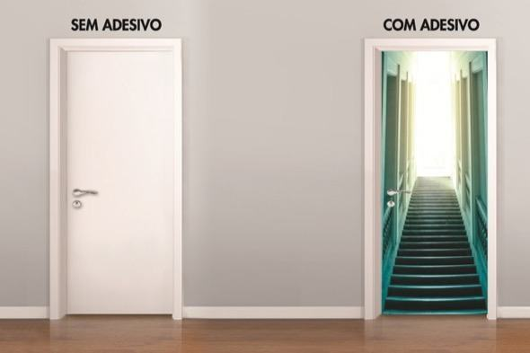 11-modelos de adesivos para portas