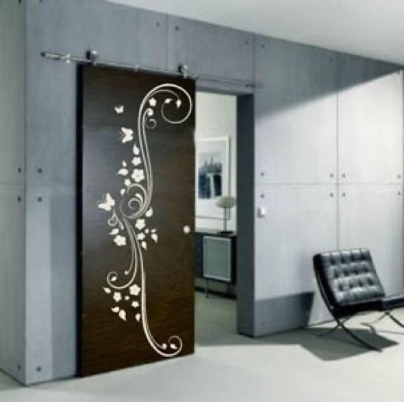 12-modelos de adesivos para portas