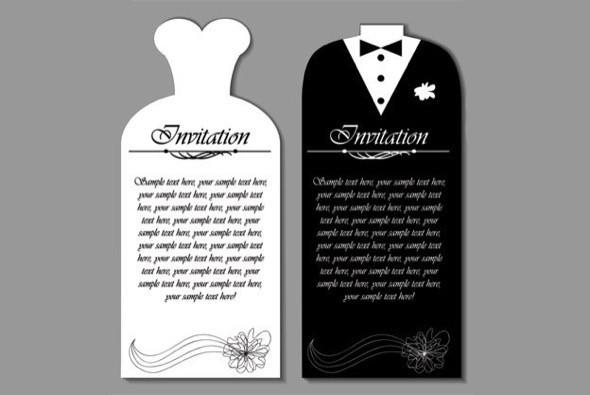 15-modelos de convite de casamento