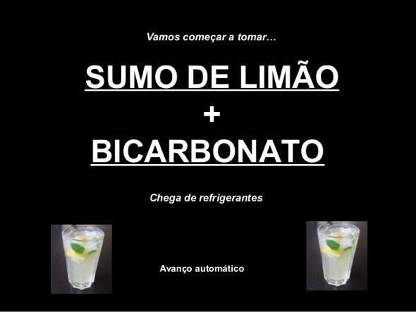 3-suco de limao com bicarbonato