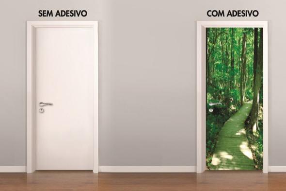 9-modelos de adesivos para portas