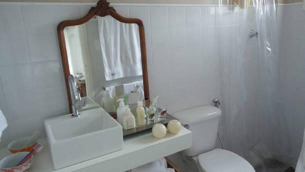 Use o próprio sabonete no espelho para evitar que o mesmo embace durante o banho. Fonte: Imageshark