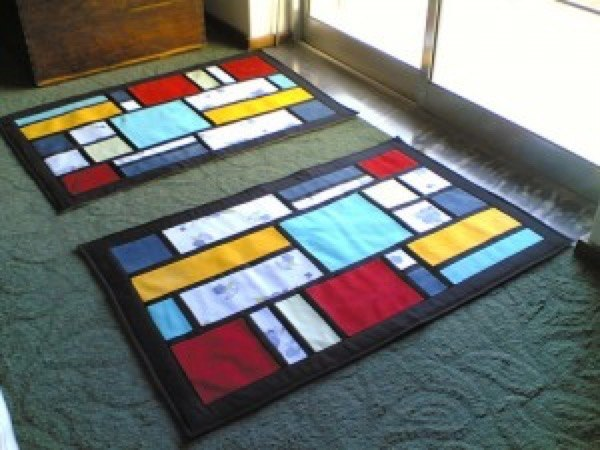 9-tapetes caseiros modelos