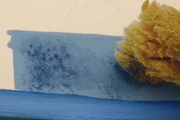 pintar parede com esponja5