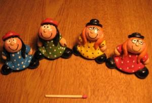 Bonecas de argila 6