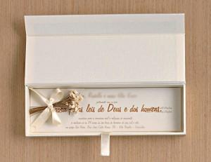 Caixa para Convite de Casamento: Modelos e onde comprar