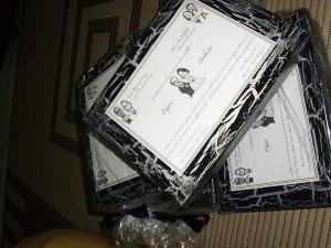 Caixa para convite de casamento 5