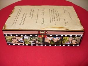 Caixa para convite de casamento 7