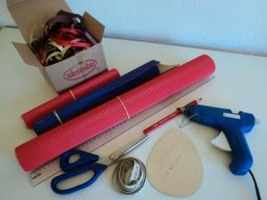 Como fazer Caixa de Papel Micro-ondulado em casa 2
