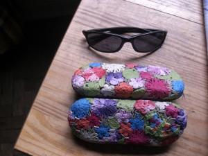 Como fazer porta óculos 1