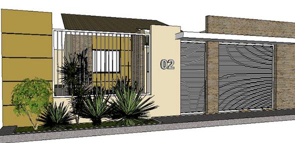 muros de casas modernas7