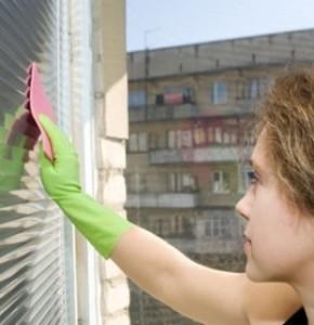 Como limpar persianas 1