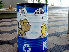 Reciclar lata de óleo 1