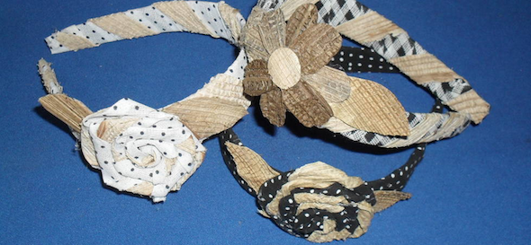 tiaras e pulseiras artesanais 1