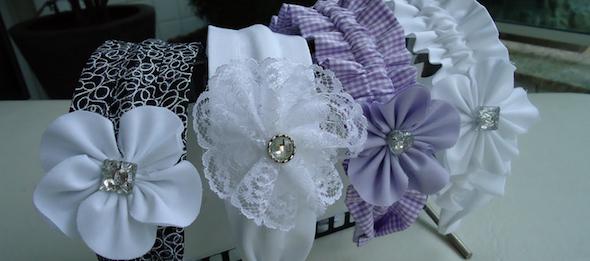 tiaras e pulseiras artesanais 4