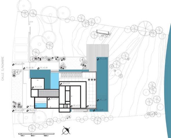 13-plantas de casas com piscinas modelos