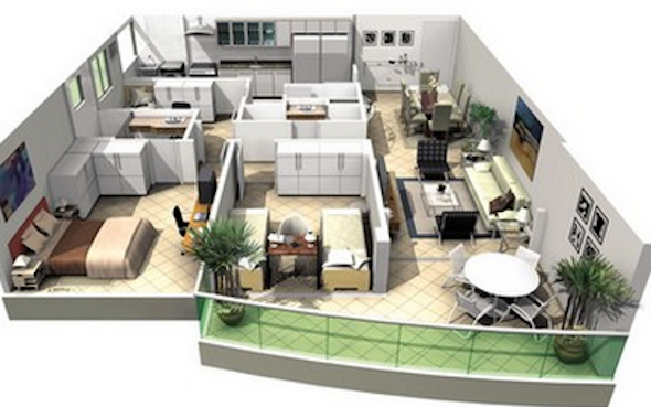 plantas+de+casas+modernas+2+3+dormi10