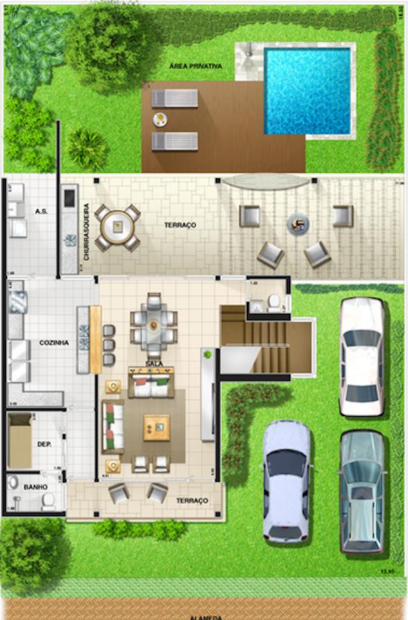 plantas+de+casas+modernas+2+3+dormi14