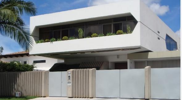 2-Frente de casas com muros exemplos bonitos