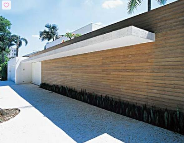 20-Frente de casas com muros exemplos bonitos