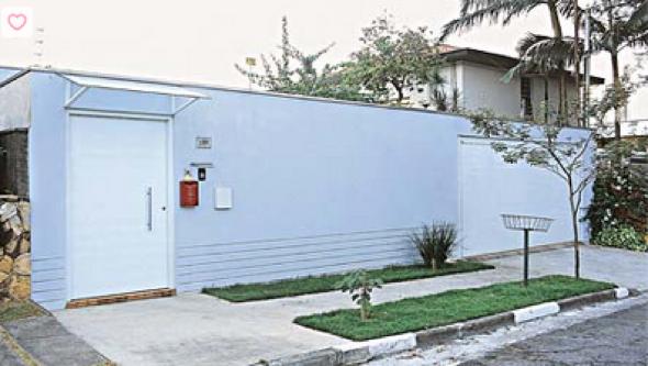 23-Frente de casas com muros exemplos bonitos